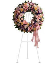 Graceful Wreath<br>Teleflora from Inglis Florist in Tucson, AZ